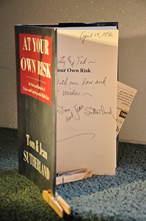 At Your Own Risk: An American Chronicle of Crisis and Captivity in the Middle East **SIGNED**: ...