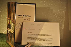 Rope Burns: Stories from the Corner **SIGNED**: Toole, F.X. (1930-2002)