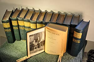 Dickens' Works illustrated-- 13 Volumes: Dickens, Charles (1812-1870)