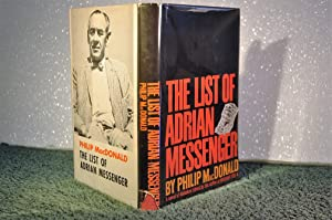 The List of Adrian Messenger: MacDonald, Philip (1900-1980)