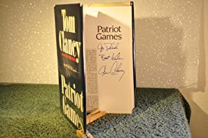 Patriot Games **SIGNED**: Clancy, Tom (1947-2013)