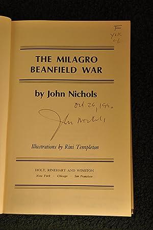 The Milagro Beanfield War **SIGNED**: Nichols,John