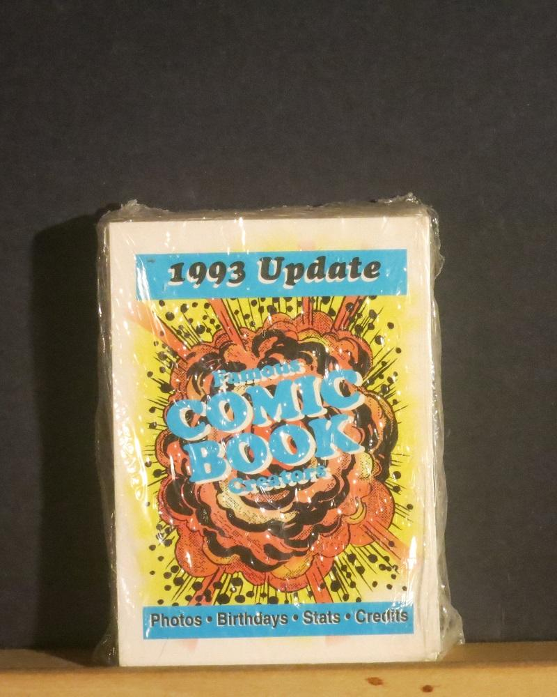Famous_Comic_Book_Creators_1993_Update_36_trading_cards_in_original_shrink_wrap___Comme_Neuf