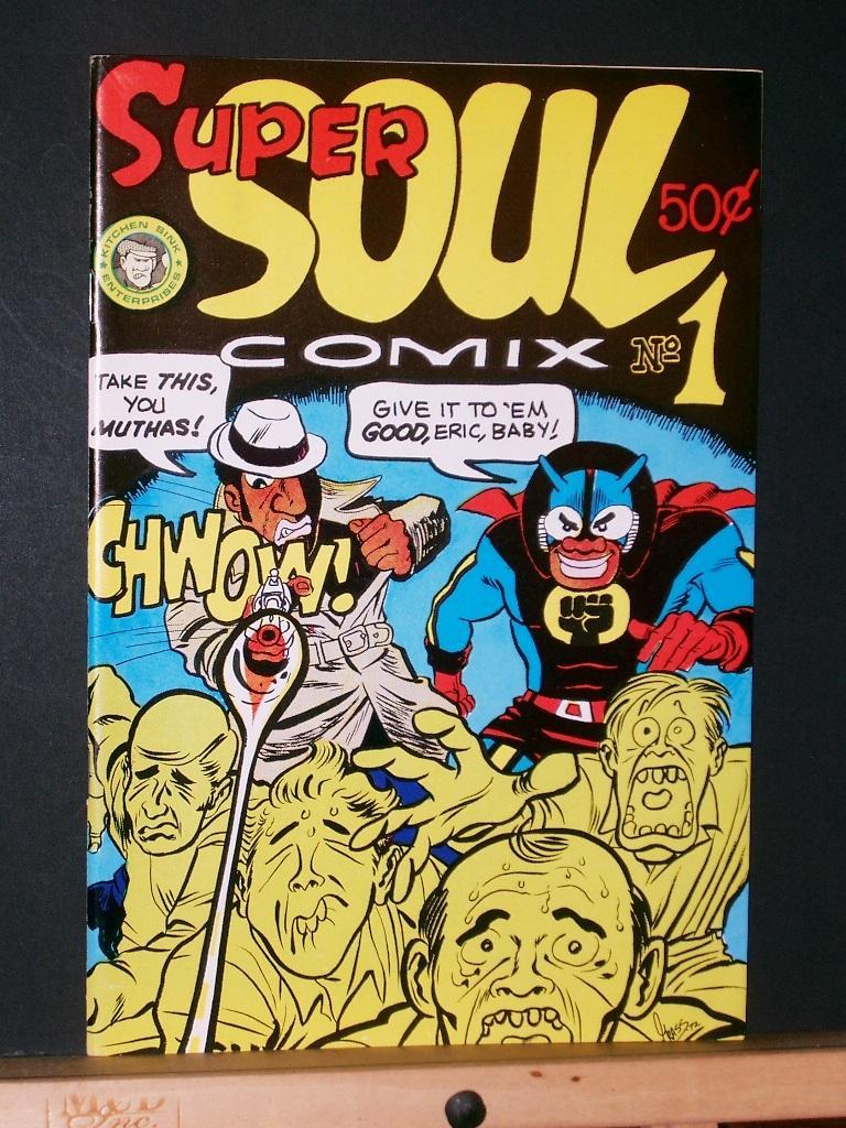 Super Soul Comix #1 by Green, Richard (Grass): Kitchen Sink ...