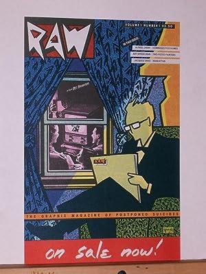 Raw Magazine Promotional Poster: Spiegelman, Art