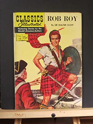 Rob Roy, Classics Illustrated #118: Harry G. Miller