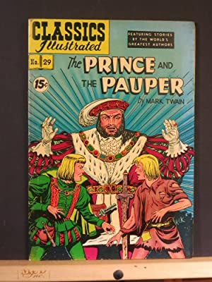 The Prince and the Pauper, Classics Illustrated: Samuel Clemens (original