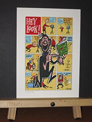 Hey Look! Serigraph