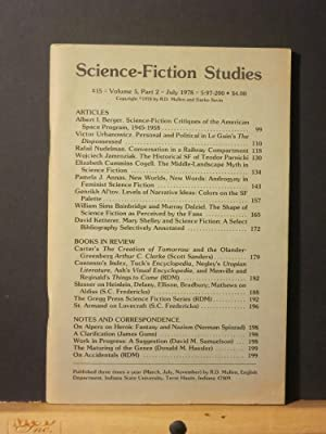 Science-Fiction Studies #15: and Darko Suvin