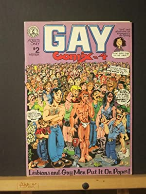Gay Comix #4: Jim Yost and