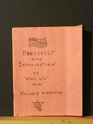 Roosevelt After Inauguration (Signed by Burroughs)