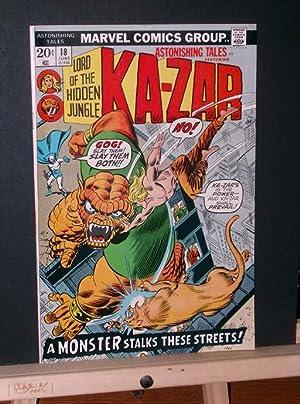 Astonishing Tales #18 (Ka-zar): Adkins, Dan