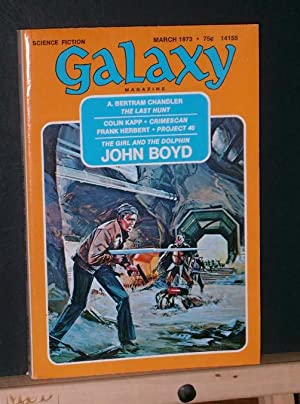 Galaxy Science Fiction Magazine, March 1973: Herbert, Frank and