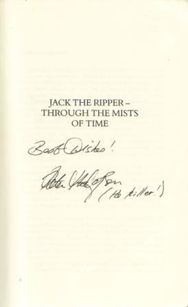 Jack The Ripper Signed Seller Supplied Images Abebooks