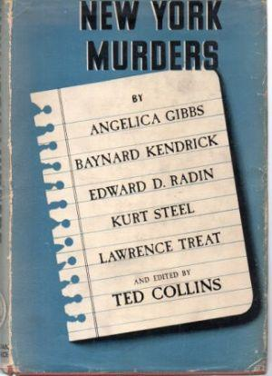 NEW YORK MURDERS: Collins (Ted) Ed. by: