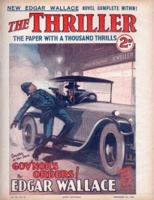 THE THRILLER The Paper With a Thousand Thrills No. 53 Vol. 2