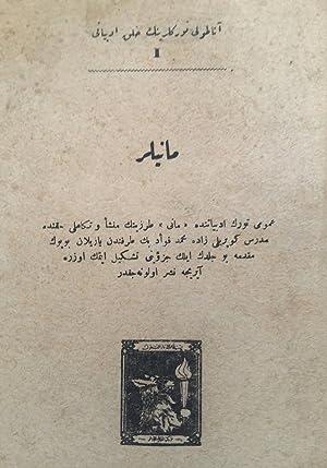Anadolu Türklerinin halk edebiyati I: Maniler. Umumî: Comp. by KILISLI