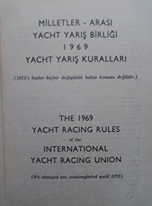The 1969 yacht racing rules of the International Yacht Racing Union (No changes are contemplated ...