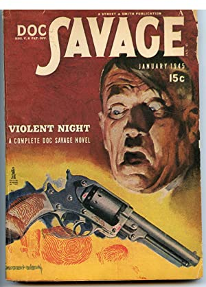 Doc Savage January 1945: Robeson, Kenneth