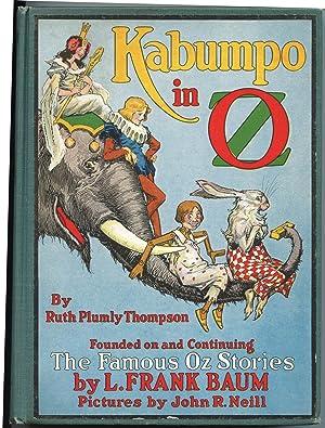 Kabumpo In Oz: Thompson, Ruth Plumly