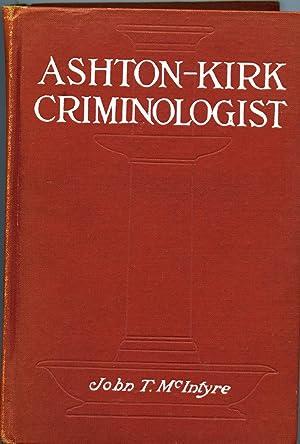 Ashton-Kirk Criminologist: McIntrye, John T.