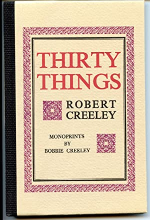 Thirty Things: Creeley, Robert