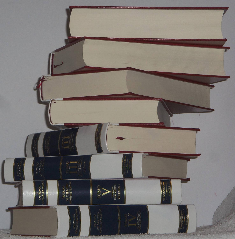 Tratado de Derecho Administrativo (6 tomos - 8 libros) de González-Varas Ibáñez, Santiago: Como Nuevo Encuadernación de tapa dura (2008) 1ª Edición | Los libros del Abuelo