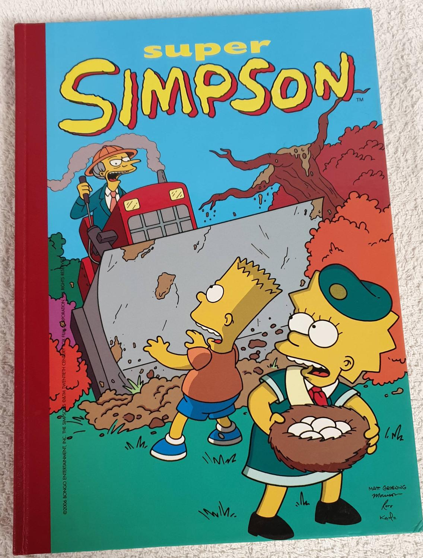Super Simpson nº 11 - Groening, Matt