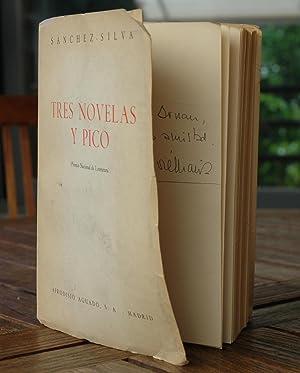 Tres novelas y pico. (Las personas extrañas.: SANCHEZ - SILVA,
