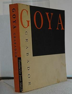 Goya grabador: Pérez Sánchez, Alfonso