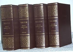 OBRAS COMPLETAS de TOLSTOI (IV Tomos): Tolstoi, León Nikolaievich