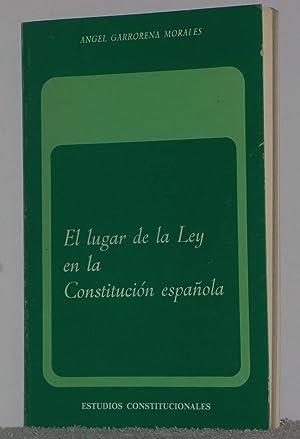 El lugar de la Ley en la: Garrorena Morales, Ángel