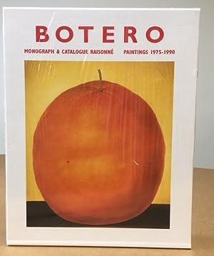 BOTERO: Monograph & Catalogue Raisonne, Paintings 1975-1990: Sullivan, Edward &