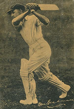 Don Bradman says I use and recommend Wakefield Oilit cricket bat oil.: Wakefield Oilit