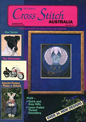 Jill Oxton's Cross Stitch Australia Issue 21.: Oxton, Jill