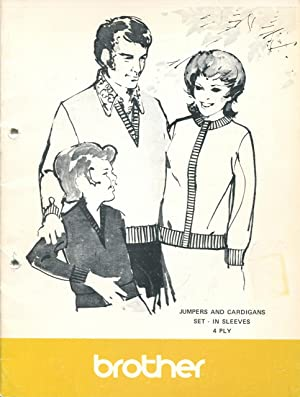 Knitted fashions with set in sleeves for: Brother
