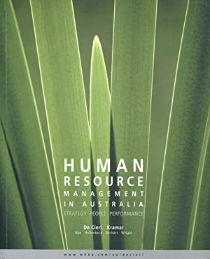 Human resource management in Australia : strategy,: De Cieri, Helen