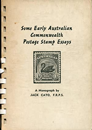 Some early Australian Commonwealth postage stamp essays.