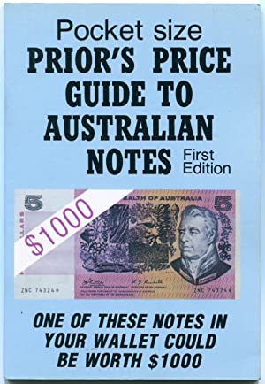 Prior's price guide to Australian bank notes