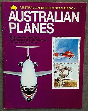 Golden stamp book of Australian planes.: Stronell, Lynne