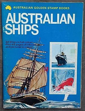 Golden stamp book of Australian ships.: Stronell, Lynne