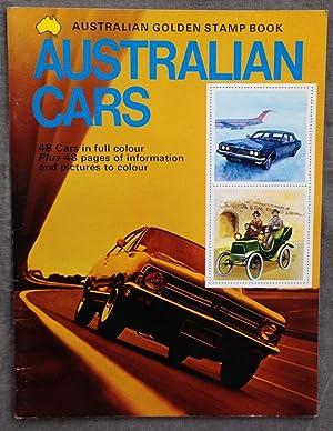 Golden stamp book of Australian cars.: Stronell, Lynne