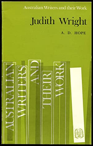 Judith Wright.: Hope, A. D.