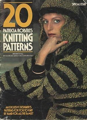 20 Patricia Roberts Knitting Patterns.: Roberts, Patricia
