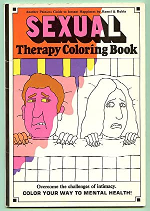 Sexual therapy coloring book.: Hamel, Marilyn and