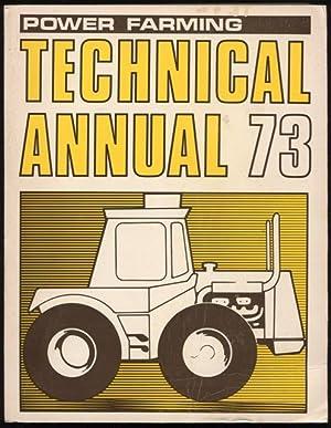 Power farming technical annual, 1973.: McDonald, John and