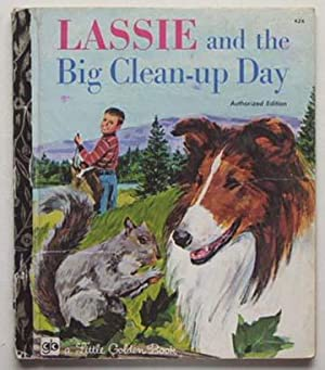 Lassie and the big clean-up day.: Graham, Kennon and