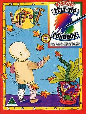 Lift-off : activity felt-tip funbook, high quality paper ideal for pens, paints, pencils & ...