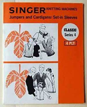 Singer Knitting Machines: jumpers and cardigans, set-in: Singer Sewing Machines