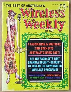 The best of Australia's Wireless Weekly in 1927.: Rowe, Jamieson